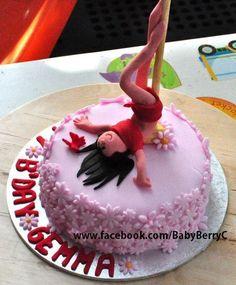 Pole dancing cake. :)  Enquire via www.facebook.com/BabyBerryC