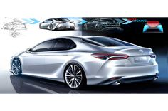 2018-Toyota-Camry-full-sketches.jpg (2048×1360)