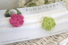 Newborn skinny headband baby headbands stretch by bummybaby, $12.00