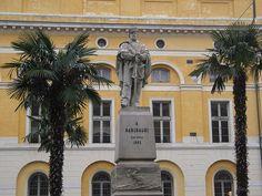 Monumento a Garibaldi. Giuseppi Garibaldi. # Ravenna, Emília-Romanha. Itália.