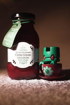 JUS CERISE GRIOTTE &  Lunartik Mini Teas Jasmin
