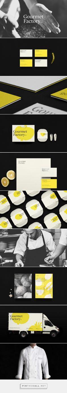Gourmet Factory packaging design by Asís - http://www.packagingoftheworld.com/2016/11/gourmet-factory.html