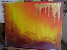 abstracto con texturas
