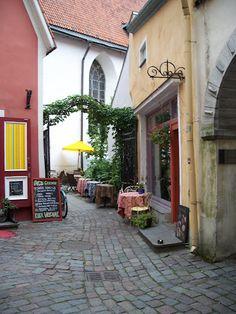 The Old Town, Toompea, Tallinn, Estonia #COLOURFULESTONIA #VISITESTONIA i could live here