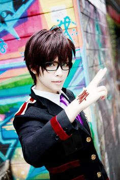 Kazuma (Noragami) cosplay. Um, this is perfect. OwO