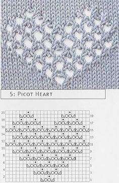 lace mesh heart pattern