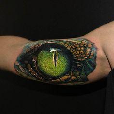 tatuagem de olho realista