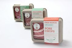 Verde Packaging Bona Fide is a fictitious local and organic meat awareness organization that encoura Organic Packaging, Cool Packaging, Organic Meat, Organic Recipes, Packging Design, Craft Burger, Meat Store, Meat Restaurant, Meat Packing