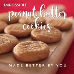 Impossible Peanut Butter Cookies