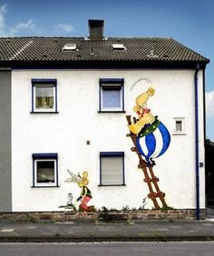 my favorite childhood friends Asterix n Obelix
