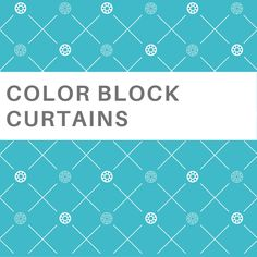 Alluring images of color block drapery & roman shades Basement Window Curtains, Basement Windows, Bathroom Windows, Bathroom Curtains, Curtains For Closet Doors, Curtains Behind Bed, Small Window Curtains, French Door Curtains, Dining Room Curtains