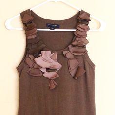 Banana Republic mini sweater dress Very good condition! 58% cotton, 31% nylon, 11% angora Banana Republic Dresses Mini