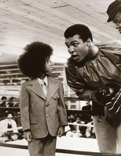 Muhammad Ali & Michael Jackson