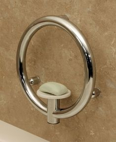 Invisia Grab Bars  Add accessibility and style to your bathroom with these camouflaged grab bars.