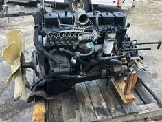 Cummins 5.9L 6BT Diesel Engine 175HP 12 Valve Motor Fully Mechanical P-Pump · $3,900.00 Cummins Motor, Engine Swap, Diesel Engine, Automotive Design, Black Widow, Jeep, Wheels, Engineering, Ford