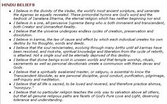 ॐ Hinduism beliefs- Oldest religion in the World - India - 15,000BC, yet Hindus have never waged religious wars, compared to the religions after, which spread through violence. 卐