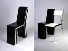 How every chair should work...side table included.