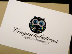Funny Congrats on Pregnancy Note Card  by glamourGreets on Etsy, $3.75