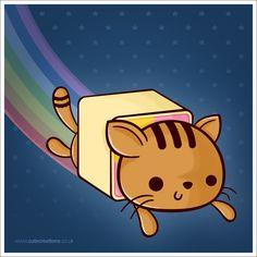 Nyan Cat CC Style by Cute-Creations.deviantart.com on @DeviantArt