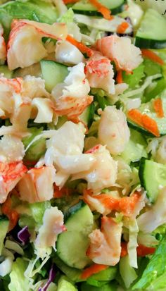 Lobster Salad With Lemon Dressing