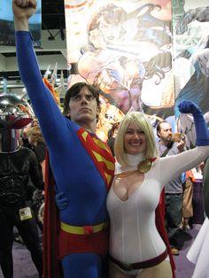 https://flic.kr/p/6fNMiN | Superman and Power Girl