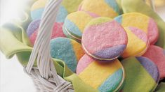 Enjoy this colorful assortment of melt-in-your-mouth butter cookies made using Betty Crocker® sugar cookie mix – a delightful surprise!