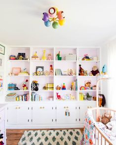 @sazeracstitches posted to Instagram: If you've never worked with color, the nursery is a perfect (and safe) place to start! 🌈 In this all-white design by @pmqfortwo, the vibrant hues of the accessories take the stage!  #sazeracstitches #nurserydecor #kidsbedroomdecor #nurseryideas #nurserydesign #kidsinteriors #nurseryinspo #kidsdesign #colorfuldecor #colortherapy #shelfie #makeyousmilestyle #morecolorplease #abmlifeiscolorful