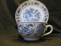Villeroy and  Boch Dresden Saxony Blue Onion by vintagexcitement, $18.00