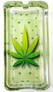 Colorful Rasta Smoking Weed Cannabis Leaf Round Metal Ashtray Reggae Smoke Gift