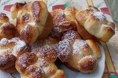 Túrós kelt virág muffin
