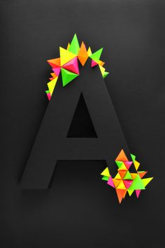 """A"" Virus by Twan van Keulen, via Behance"