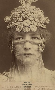 ornate sparkle and bling... #vintage photograph