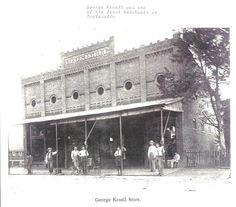GEORGE KROELL STORE, MONTEVALLO, AL