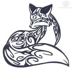 Celtic Fox Tattoo | pin-amazing-tribal-fox-tattoos-design-cake-on-pinterest-5062.jpg