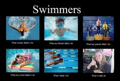 Once a swimmer, always a swimmer