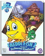 Freddi Fish 2: The Case of The Haunted Schoolhouse by Humongous Entertainment, http://www.amazon.com/dp/B000FETCF0/ref=cm_sw_r_pi_dp_jYN5tb1DNARRX