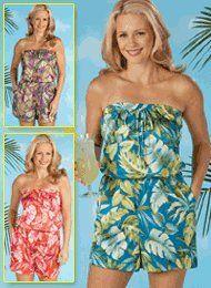 Tropical Romper - Women's Sizes