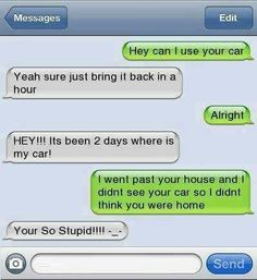 Funny texts 144 Find very good Jokes, Memes and Quotes on our site. Keep calm and have fun. Funny Pictures, Videos, Jokes & new flash games every day. Stupid Texts, Funny Drunk Texts, Funny Text Messages Fails, Text Message Fails, Funny Texts Jokes, Text Jokes, Drunk Humor, Funny Relatable Memes, Stupid Funny