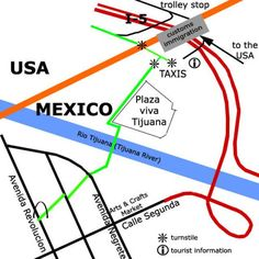How To Cross The Border Into Tijuana