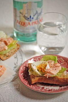 Kuchnia Bazylii: Pieczony łosoś na kanapki
