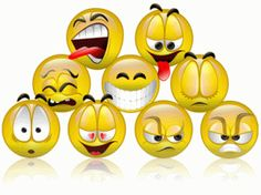 Is there a difference between an emoticon and a smiley? Smileys, Color Site, Facebook Emoticons, Facebook Status, Free Facebook, Animated Smiley Faces, Emoticon Faces, List Of Emotions, Animiertes Gif