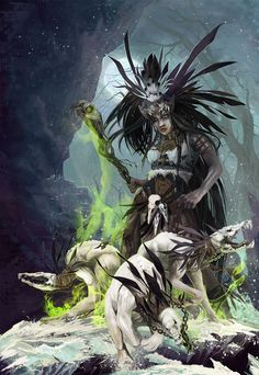 Witch Doctor (Diablo III Fan Art Contest) by irish-blackberry.deviantart.com on @DeviantArt