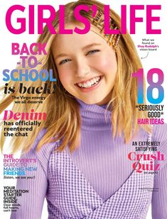 Girls Life Magazine, Denim Hair, The Baby Sitters Club, Parents Choice, Beauty Brushes, Women Lifestyle, Make New Friends, Cool Hairstyles, Celebs
