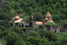 Haghpat and Sanahin Monasteries are huge complexes in the North of Armenia founded in 10-13th centuries. The both monasteries are outstanding masterpieces of Armenian architecture in which artistic merits transcended the limits of the national culture. They are included in the list of UNESCO World Heritage Sites.
