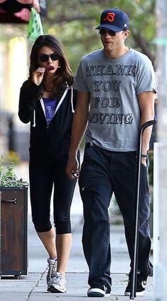 Mila Kunis And Ashton Kutcher Are Fighting