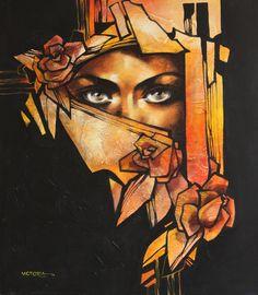 210.jpg (640×734) La pintora Victoria Stoyanova, de Bulgaria. Cada persona tiene su ideal sobre la belleza femenina.