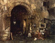 The Antiquary Shop - William Merritt Chase
