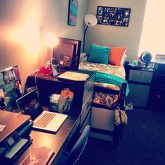 My cute dorm room!