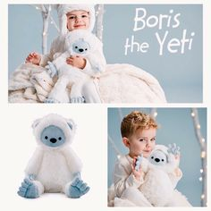 "😍""Boris the Yeti"" just stomped down from the snowy peaks! He's dressed in his fuzzy best & ready for some serious snow day fun--even if it's from a cozy spot indoors.  ℹ️Every quality, stuffed Scentsy Buddy features a zippered pouch for your favorite Scent Pak (included). https://tressalynne.scentsy.us **Boris is only available while supplies last. Sale price is valid December 2016 only (plus tax & shipping)."