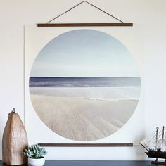 Are you ready to make some DIY art? This entire process is SO easy! I kid you not, if I can do it, then so can you! Here is how to create your own modern coastal print.